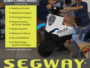 auto Segway tříkolka