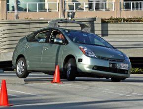 auto Google Car Toyota Prius hybrid robotické auto