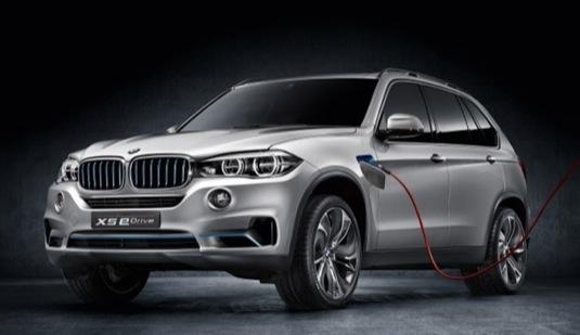 auto BMW Concept X5 eDrive plug-in hybrid