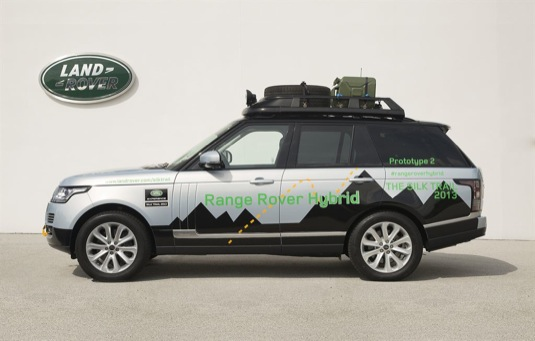 auto Range Rover Sport Hybrid