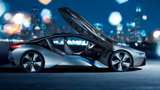 auto BMW i8 plug-in hybrid autosalon Frankfurt 2013