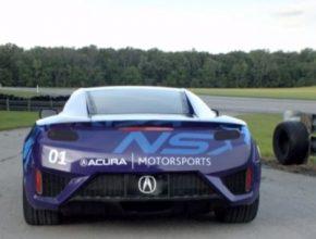 auto Honda Acura NSX prototyp