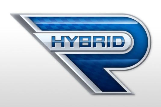 auto Hybrid-R Toyota koncept hybridního auta autosalon Frankfurt 2013 logo