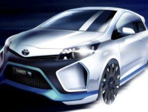 auto Toyota Yaris R-Hybrid autosalon Frankfurt 2013