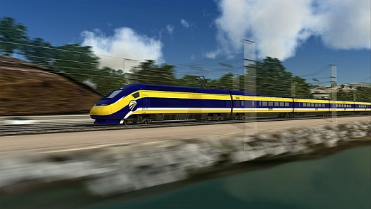 Americký vysokorychlostní vlak