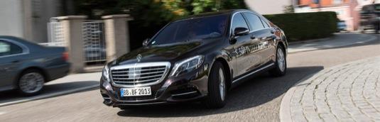Mercedes-Benz třídy S Intelligent Drive