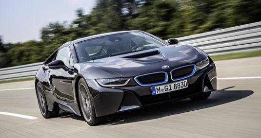 auto BMW i8 autosalon Frankfurt 2013 plug-in hybrid světová premiéra