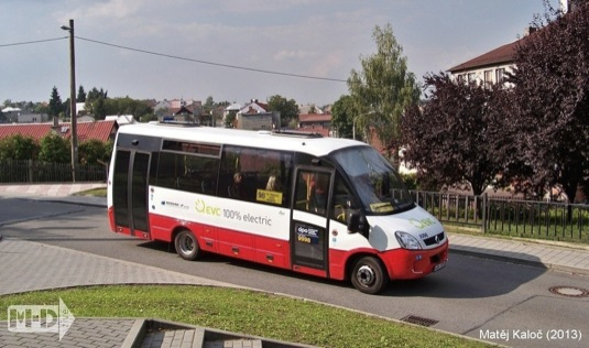 auto elektrobus Rošero First Electric elektrický autobus EVC Group