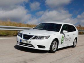 auto Saab 9-3 ePower elektromobil