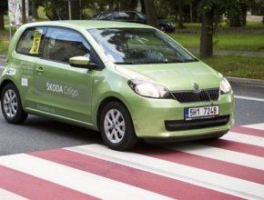 auto Škoda Economy Run Škoda Citigo na startu