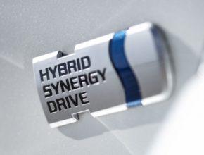 auto HSD Hybrid Synergy Drive hybridní pohon technologie logo
