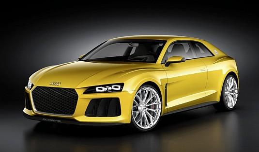 Audi Sport quattro: hybridní dravec z Německa