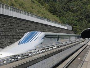 L-Zero: Japonský magnetický vlak jezdí 500 km/h