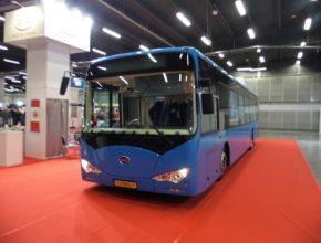 auto autobus TransExpo 2013 elektrický autobus BYD