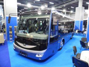 auto elektrický autobus elektrobus SOR EBN 8
