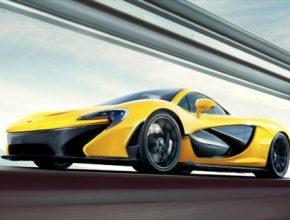 auto McLaren P1 plug-in hybrid