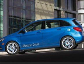 auto Mercedes-benz B Class třída B ED elektromobil