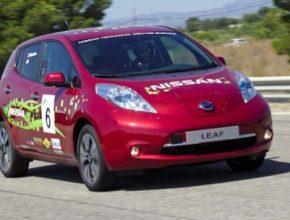 auto Nissan Leaf 48 kWh kapacita baterie