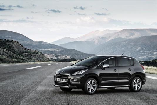 auto Peugeot 3008 Hybrid4