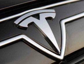auto Tesla Model S logo