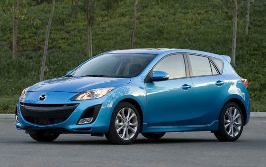 auto Mazda3 hatchback