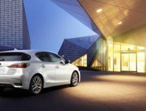 Nový Lexus CT200h se světu představí na autosalonu v Číně