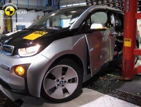 auto crash-test elektromobilu BMW i3 Euro NCAP ADAC
