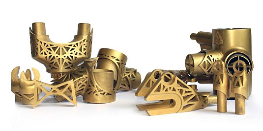 Titanové 3D součástky