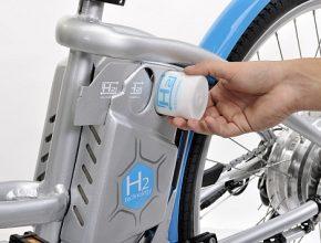 Vodíkové kolo Alter Bike