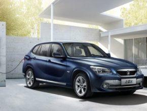 auto Zinoro E1 BMW Čína
