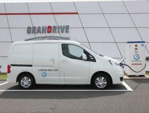 auto Nissan e-NV200 elektrická dodávka