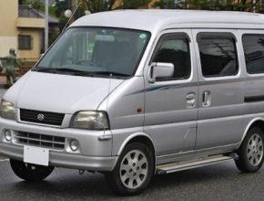 auto elektromobil Suzuki Every Electric elektromobil minivan kei