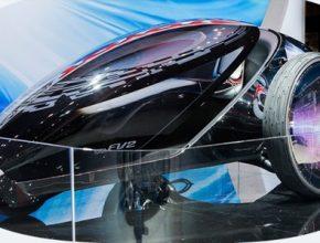 elektrické vozítko Toyota FV2