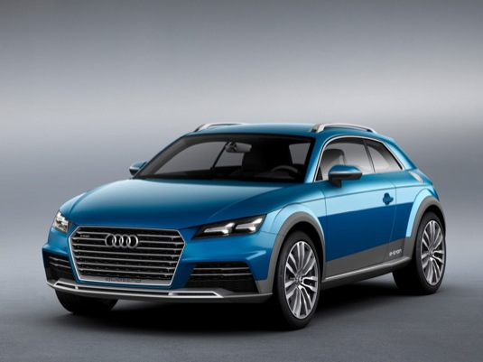 auto Audi Allroad Shooting Brake Concept plug-in hybrid