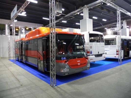 auto stlačený zemní plyn autobusy Solaris CNG