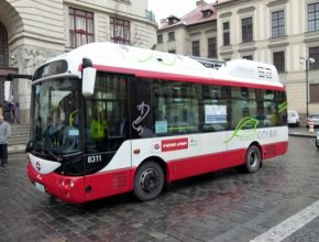auto Česká republika Praha elektrobus