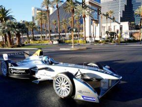 auto elektrická formule E Las Vegas CES 2014