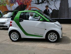 auto elektromobil Smart ED fortwo