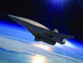 auto hypersonický bombardér Lockheed Martin SR-72