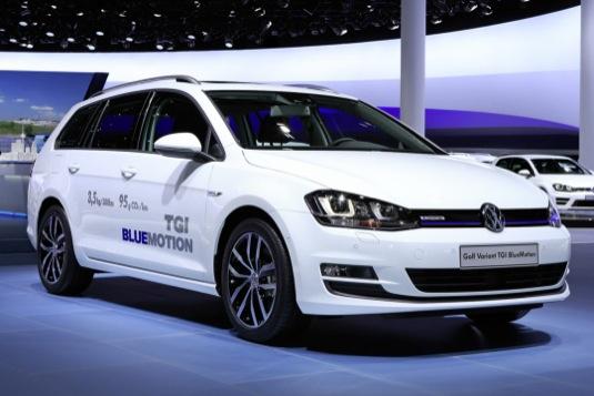 auto na CNG Volkswagen Golf Variant TGi