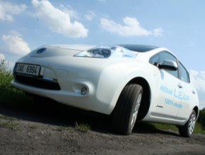 auto Nissan Leaf elektromobil s vyšším dojezdem