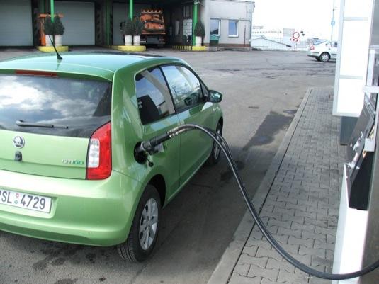 auto test Škoda Citigo CNG