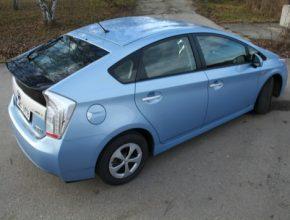 auto Toyota Prius plug-in hybrid dvouměsíční dlouhodobý test