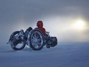 Maria Leijerstam směřuje na jižní pól