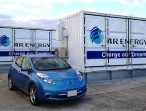 auto 4R Energy vysokokapacitní baterie Japonsko