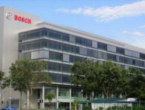 auto Bosch budova