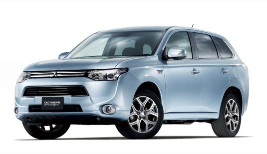 auto Mitsubishi Outlander PHEV plug-in hybrid auto SUV