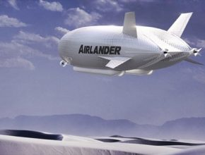 auto AirLander vzducholoď společnosti Hybrid Air Vehicles
