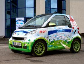 auto elektromobil Smart fortwo ED electric drive madeta