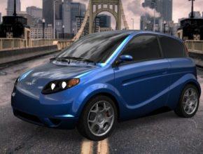 auto Kestrel EV elektromobil - elektrické auto z konopí
